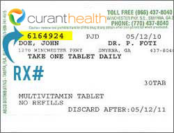 how to find medication rx number
